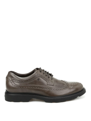 Hogan: lace-ups shoes - H304 New Route leather Derby shoes