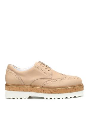 Hogan: lace-ups shoes - H317 Route leather shoes