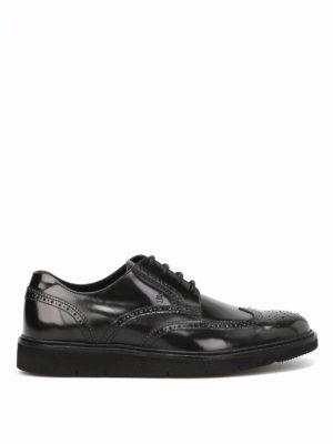 Hogan: lace-ups shoes - H322 Derby leather shoes