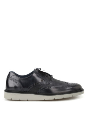 Hogan: lace-ups shoes - H322 smooth leather derby shoes