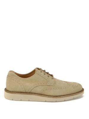 Hogan: lace-ups shoes - H322 suede Derby shoes