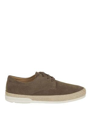 HOGAN: scarpe stringate - Stringate Derby H358 in suede