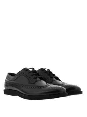 Hogan: lace-ups shoes online - Club leather Derby shoes