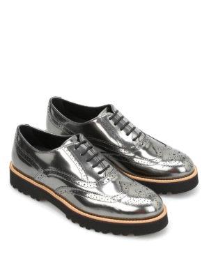 Hogan: lace-ups shoes online - H259 patent leather derby shoes