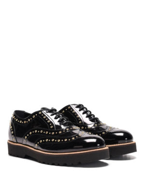 Hogan: lace-ups shoes online - H259 Route studded Oxford shoes