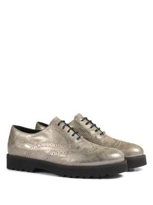 Hogan: lace-ups shoes online - H259 suede Oxford shoes