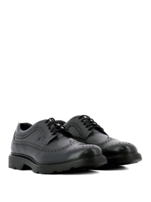 Hogan: lace-ups shoes online - H304 New Route dark grey lace-ups