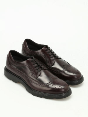 Hogan: lace-ups shoes online - H304 New Route Derby brogue shoes