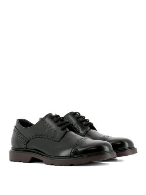 Hogan: lace-ups shoes online - H304 New Route Derby lace-ups