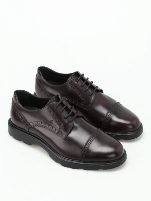 Hogan: lace-ups shoes online - H304 New Route leather brogues
