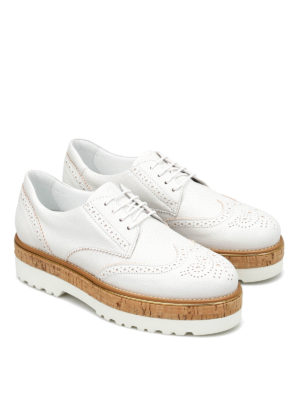 Hogan: lace-ups shoes online - H317 Route leather shoes