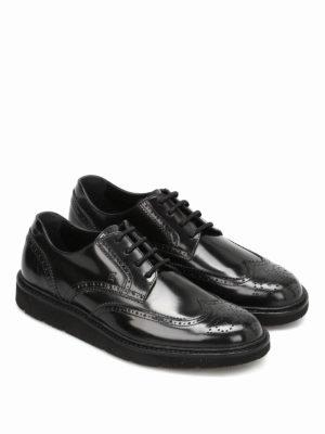 Hogan: lace-ups shoes online - H322 Derby leather shoes