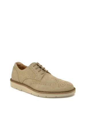 Hogan: lace-ups shoes online - H322 suede Derby shoes