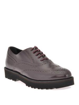 Hogan: lace-ups shoes online - ROUTE H259 BROGUE LEATHER LACE-UPS