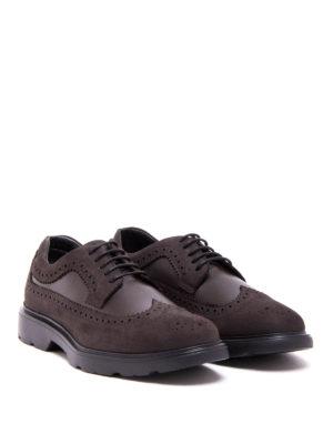 Hogan: lace-ups shoes online - Route H304 brogue Derby shoes