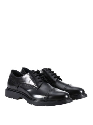 Hogan: lace-ups shoes online - Route H304 leather derby shoes