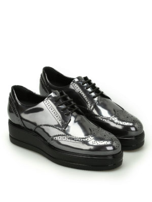Hogan: lace-ups shoes online - Route H323 leather derby shoes