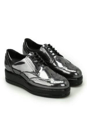 Hogan: lace-ups shoes online - Route H323 leather derby shoes