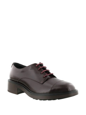 Hogan: lace-ups shoes online - Route H332 leather Derby shoes