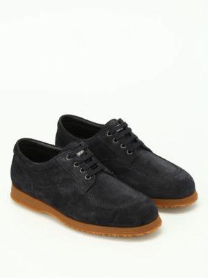 Hogan: lace-ups shoes online - Traditional suede shoes