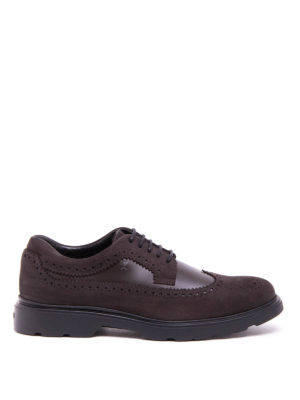Hogan: lace-ups shoes - Route H304 brogue Derby shoes