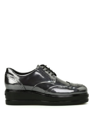 Hogan: lace-ups shoes - Route H323 leather derby shoes