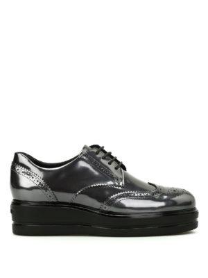 Hogan: lace-ups shoes - Route H323 leather derby shoes