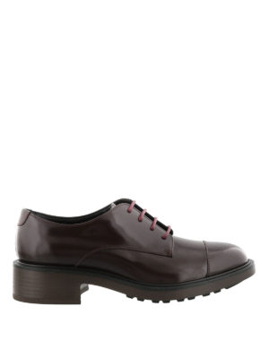 Hogan: lace-ups shoes - Route H332 leather Derby shoes