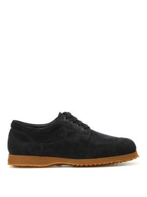 Hogan: lace-ups shoes - Traditional suede shoes