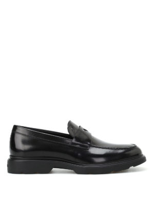 Hogan: Loafers & Slippers - H304 New Route black loafers