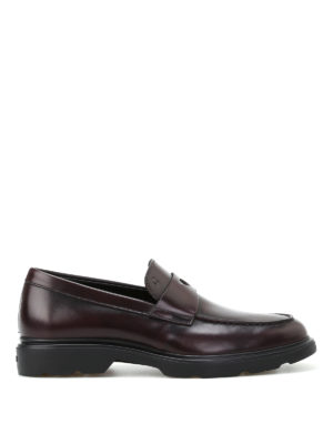 Hogan: Loafers & Slippers - H304 New Route leather loafers