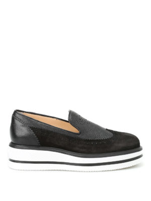 Hogan: Loafers & Slippers - H323 New Route slip-ons