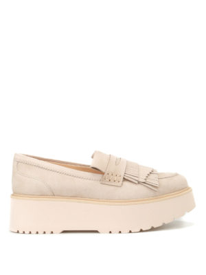 Hogan: Loafers & Slippers - H355 maxi sole loafers