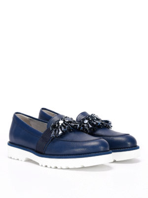 Hogan: Loafers & Slippers online - H259 embellished loafers