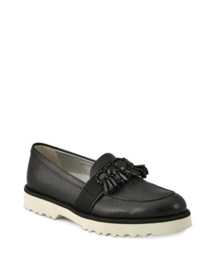 Hogan: Loafers & Slippers online - H259 embellished loafers