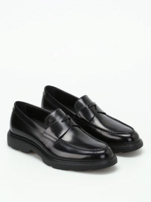 Hogan: Loafers & Slippers online - H304 New Route black loafers
