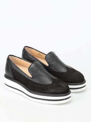 Hogan: Loafers & Slippers online - H323 New Route slip-ons