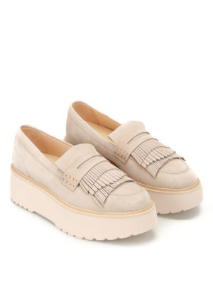 Hogan: Loafers & Slippers online - H355 maxi sole loafers
