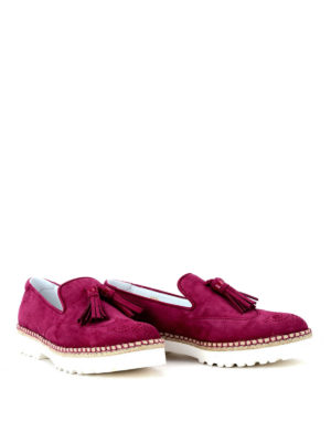 Hogan: Loafers & Slippers online - Route H311 suede loafers