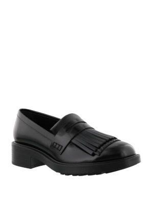 Hogan: Loafers & Slippers online - Route H332 fringed leather loafers