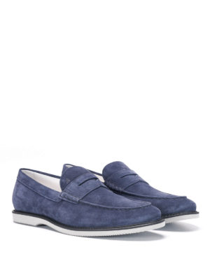 Hogan: Loafers & Slippers online - Suede loafers