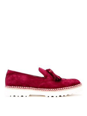 Hogan: Loafers & Slippers - Route H311 suede loafers