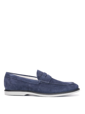 Hogan: Loafers & Slippers - Suede loafers