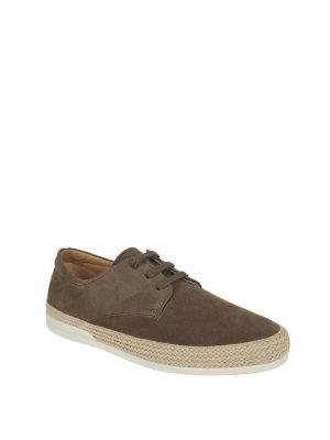 HOGAN: scarpe stringate online - Stringate Derby H358 in suede