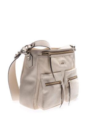 HOGAN: borse a spalla online - Borsa a spalla in pelle beige