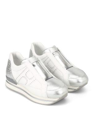 HOGAN: sneakers online - Slip-on H222 con H forata