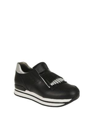 HOGAN: sneakers online - Sneaker slip-on H222 con frange