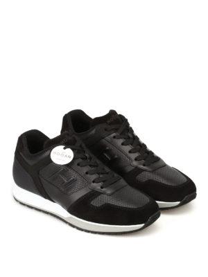 HOGAN: sneakers online - Sneaker H321 in pelle traforata