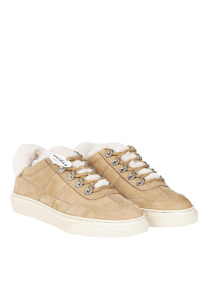 HOGAN: sneakers online - Sneaker H365 in pelle con interno in montone