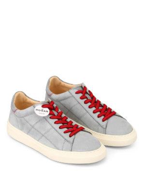 HOGAN: sneakers online - Sneaker basse in nabuck H365